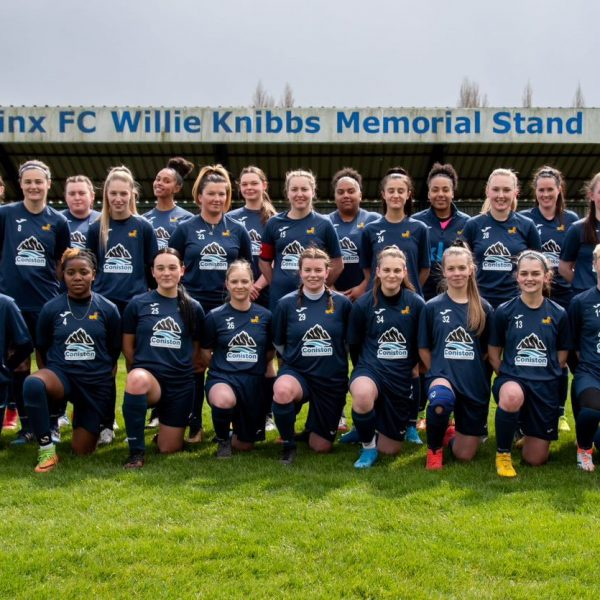 Coniston is very proud to announce that it is the sponsor of Coventry Sphinx Ladies FC's training kits